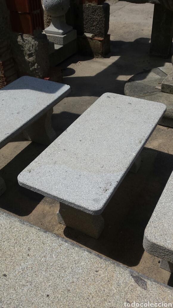 Antigüedades: banco piedra de granito pecho de paloma. varios. - Foto 4 - 118244674