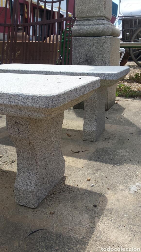 Antigüedades: banco piedra de granito pecho de paloma. varios. - Foto 5 - 118244674