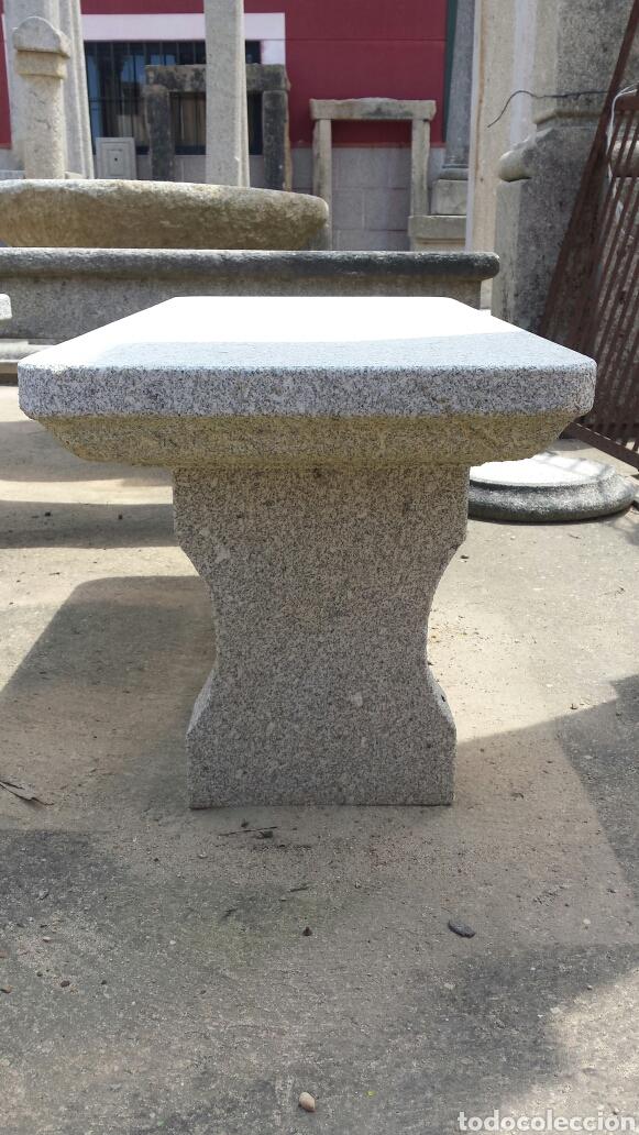 Antigüedades: banco piedra de granito pecho de paloma. varios. - Foto 6 - 118244674