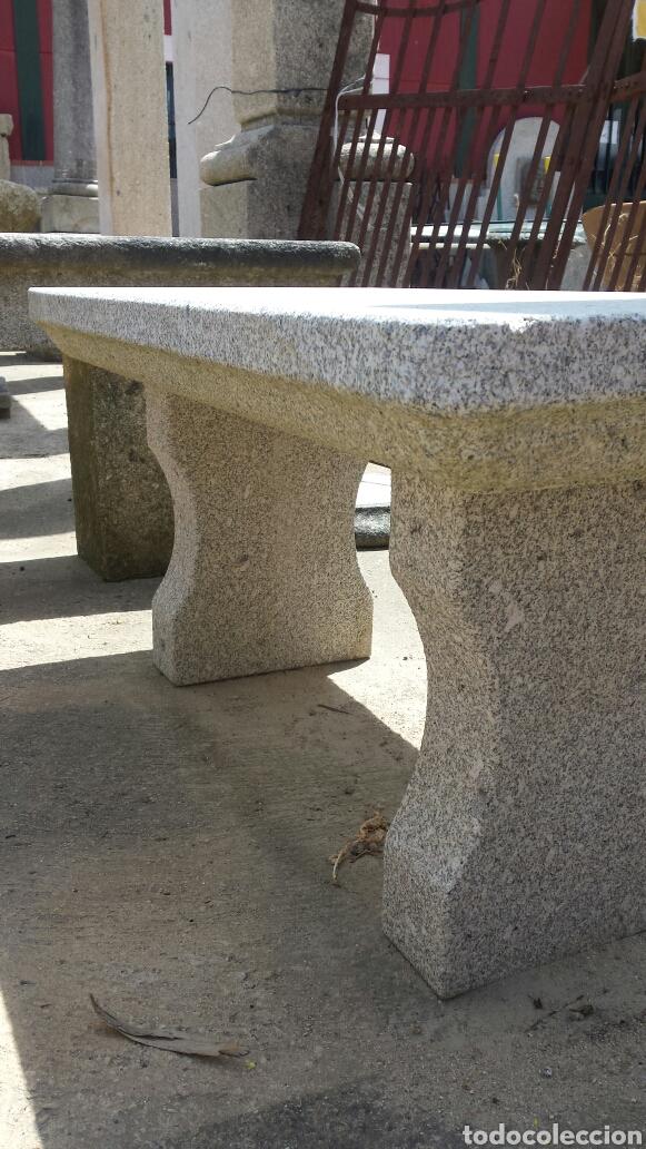 Antigüedades: banco piedra de granito pecho de paloma. varios. - Foto 7 - 118244674