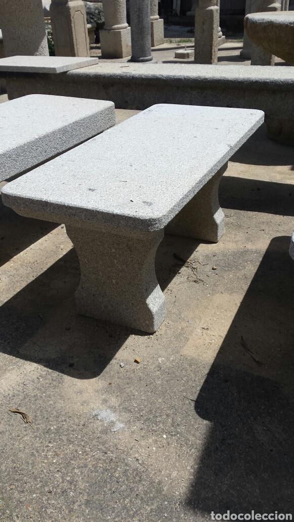 Antigüedades: banco piedra de granito pecho de paloma. varios. - Foto 8 - 118244674