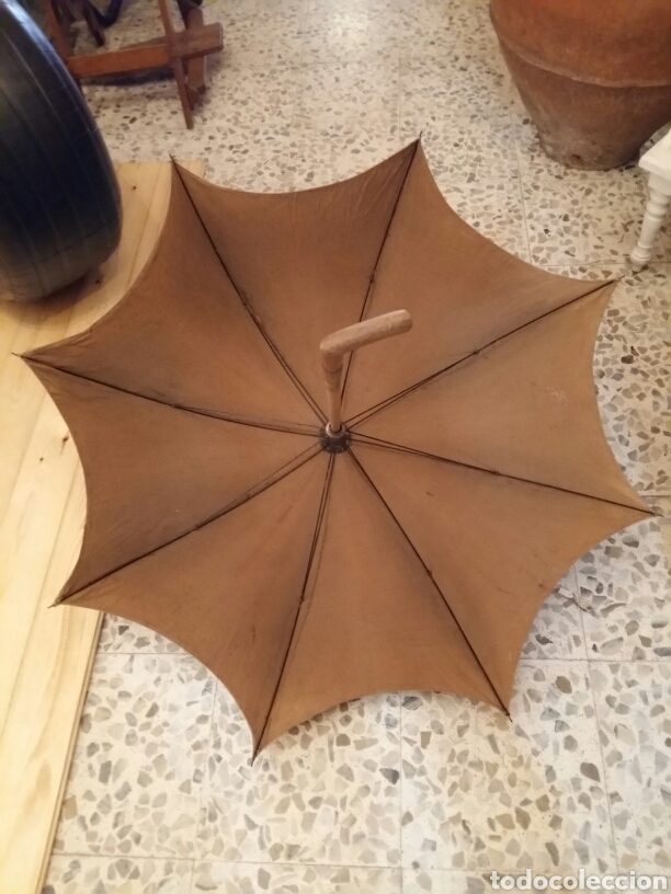 Antigüedades: Paraguas- sombrilla -umbrella antigua - Foto 2 - 121125959