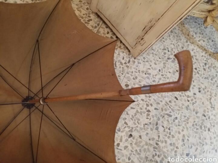 Antigüedades: Paraguas- sombrilla -umbrella antigua - Foto 3 - 121125959