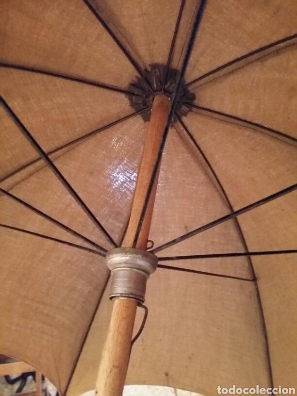 Antigüedades: Paraguas- sombrilla -umbrella antigua - Foto 5 - 121125959