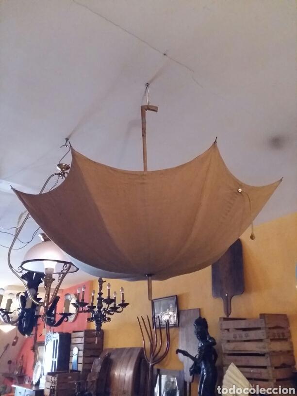 Antigüedades: Paraguas- sombrilla -umbrella antigua - Foto 7 - 121125959