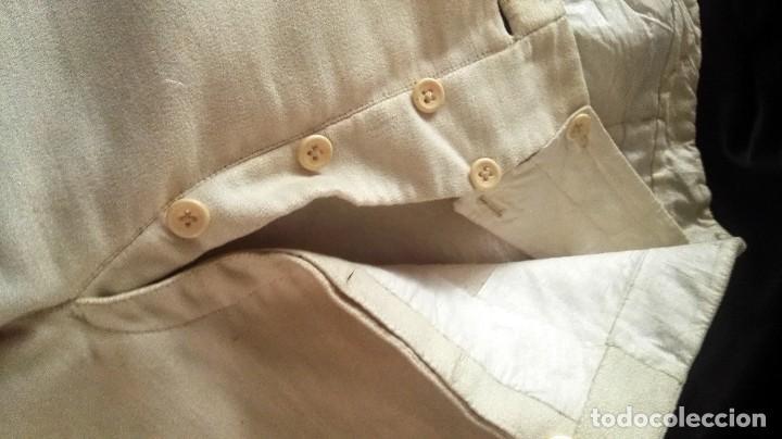 Antigüedades: Pantalon goyesco como los que llevaban los majos de Goya, pieza creada circa 1850 - Foto 7 - 121134099