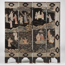 Antigüedades: BIOMBO CHINO. Lote 121154551