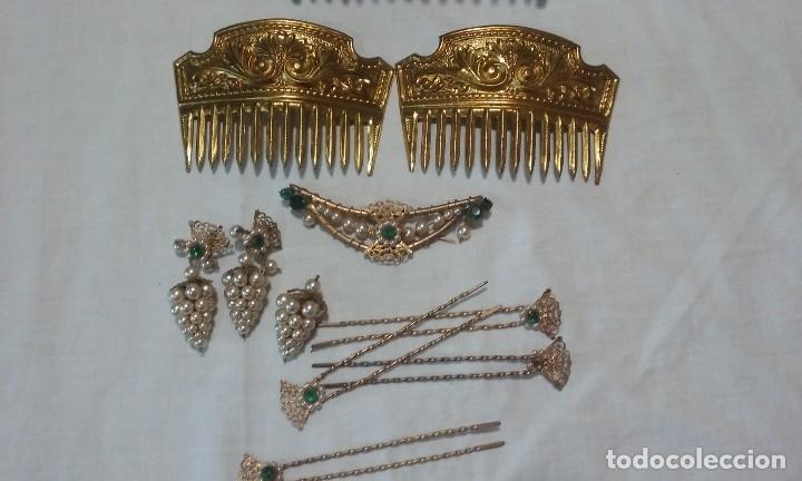 Antigüedades: Lote peinetas y mantilla. - Foto 5 - 121168751
