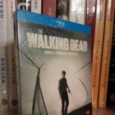 Series de TV: THE WALKING DEAD CUARTA TEMPORADA BLURAY PRECINTADA. Lote 121217895