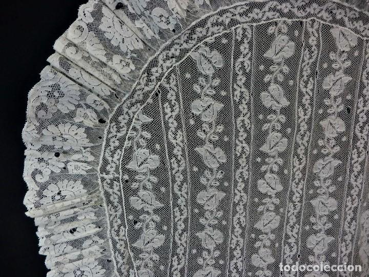 Antigüedades: 1512 tapete encaje antiguo a revisar - Foto 4 - 121230911