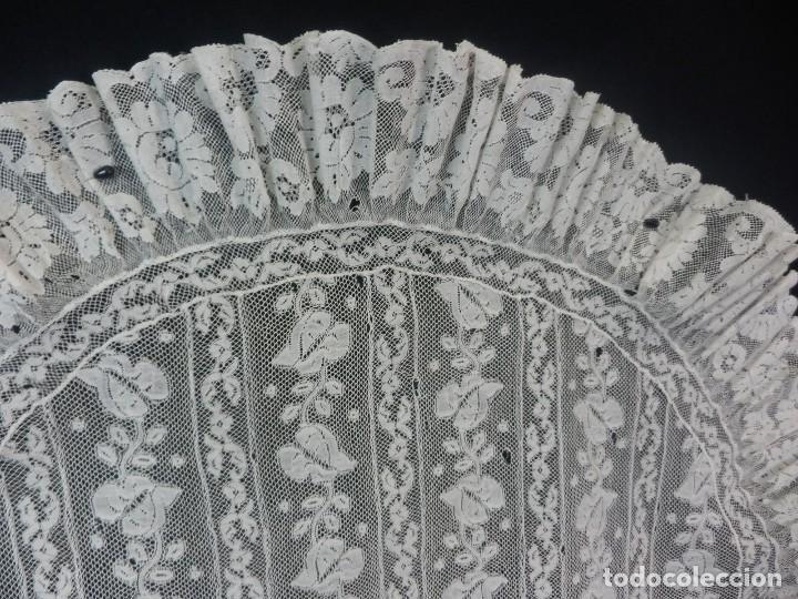 Antigüedades: 1512 tapete encaje antiguo a revisar - Foto 5 - 121230911