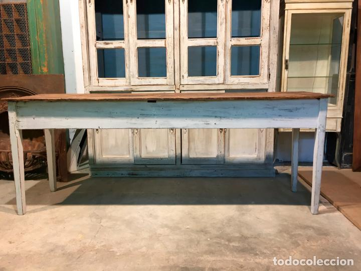 antigua mesa de cocina mostrador de trabajo - Comprar Mesas Antiguas ...