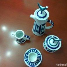 Antigüedades: JUEGO DE CAFE DE PORCELANA DE SARGADELOS. Lote 121273347