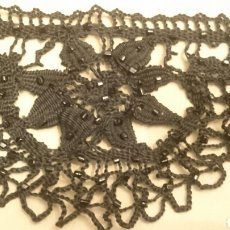 Antigüedades: BOLILLO CON AZABACHE. Lote 121316480