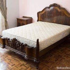 Antigüedades - Dormitorio de nogal, Años 50 - 121327135