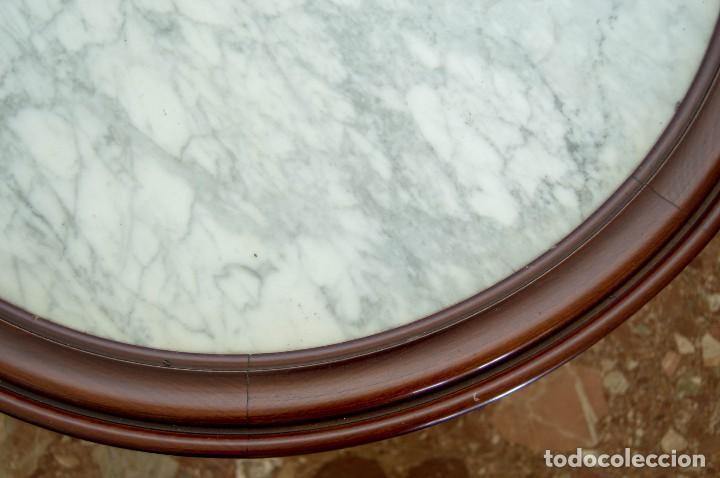 Antigüedades: Mesa de centro de madera maciza - Foto 2 - 121337799