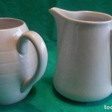 Antigüedades: 2 JARRAS DE SERVIR VINO EN TABERNA. Lote 121397331