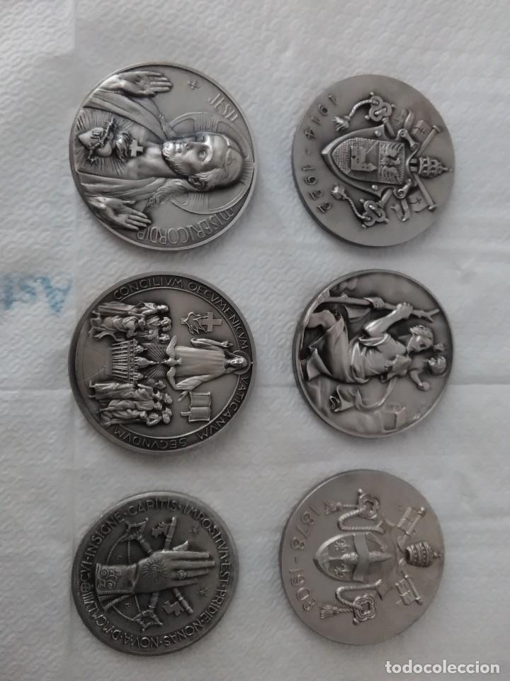 Antigüedades: Colección de monedas de papas - Foto 2 - 121402039