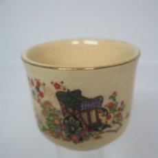 Antigüedades: PEQUEÑA PORCELANA ANTIGUA JAPON - MARCA EN LA BASE. Lote 121420547