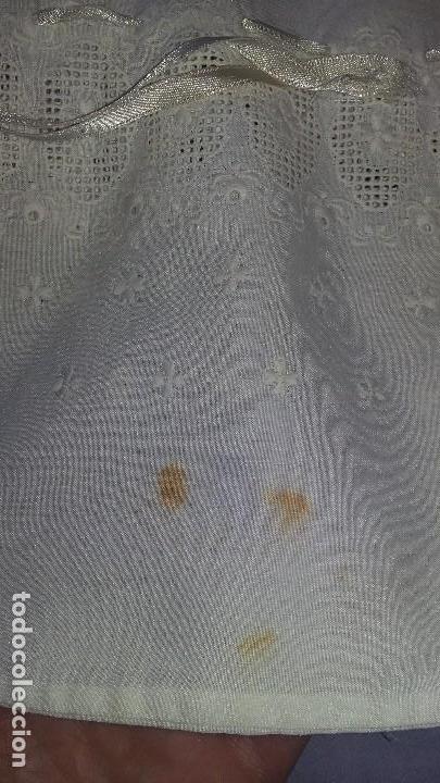 Antigüedades: Lote de pañuelos y bolsita para guardar - Foto 9 - 121437547
