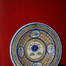 Antigüedades: PLATO CERÁMICA DE TALAVERA DE LA REINA - LA MENORA. Lote 121446943