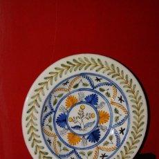 Antigüedades: PLATO CERÁMICA DE TALAVERA DE LA REINA - LA MENORA. Lote 121447015