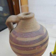 Antigüedades: JARRON BARRO COCIDO VINTAGE AÑOS 40. Lote 121463327