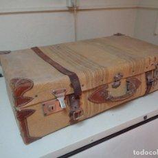 Antigüedades: MALETA DE CARTON Y TELA AÑOS 20. Lote 121495439