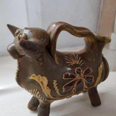 Antigüedades: TORO DE CUENCA VINTAGE AÑOS 50. Lote 121513595