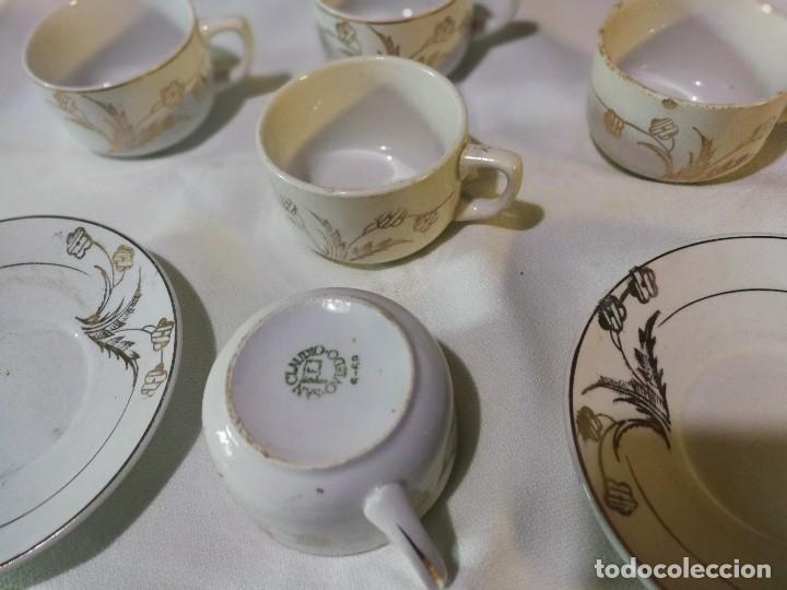 Antigüedades: TAZAS DE CAFE SAN CLAUDIO - Foto 2 - 121555211