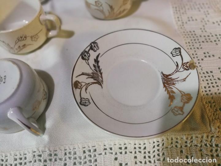 Antigüedades: TAZAS DE CAFE SAN CLAUDIO - Foto 4 - 121555211