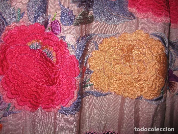 Antigüedades: Manton de manila - Foto 7 - 121561963