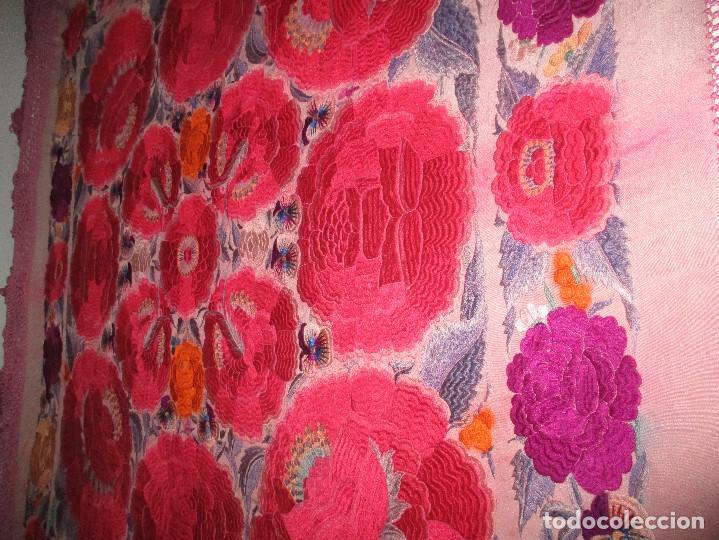 Antigüedades: Manton de manila - Foto 11 - 121561963