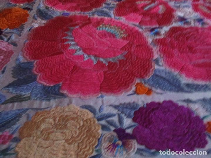 Antigüedades: Manton de manila - Foto 13 - 121561963