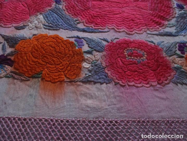 Antigüedades: Manton de manila - Foto 14 - 121561963