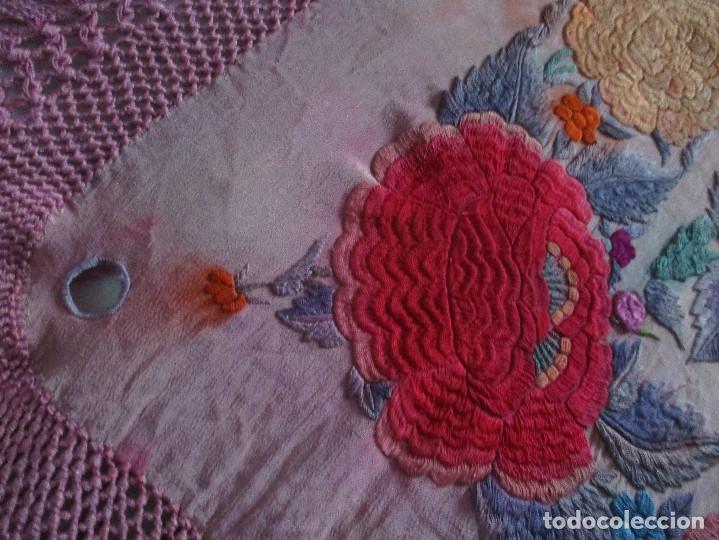 Antigüedades: Manton de manila - Foto 15 - 121561963