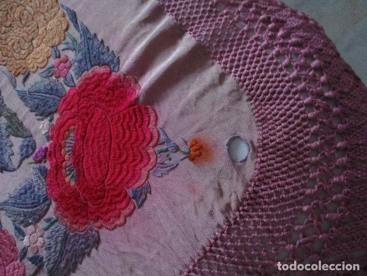 Antigüedades: Manton de manila - Foto 16 - 121561963