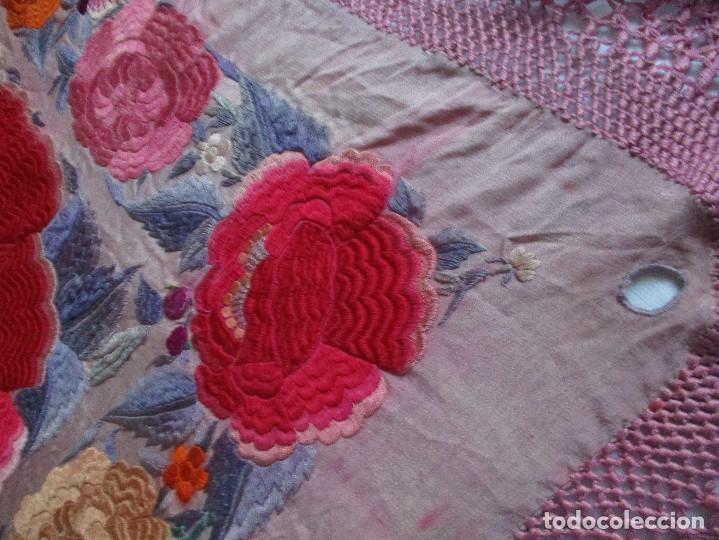 Antigüedades: Manton de manila - Foto 17 - 121561963