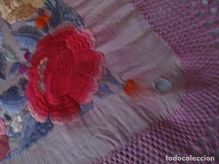 Antigüedades: Manton de manila - Foto 18 - 121561963