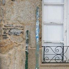 Antigüedades: ANTIGUOS REMOS DE MADERA. Lote 121701808
