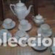 Antigüedades: JUEGO DE CAFÉ JAGER. Lote 121820863