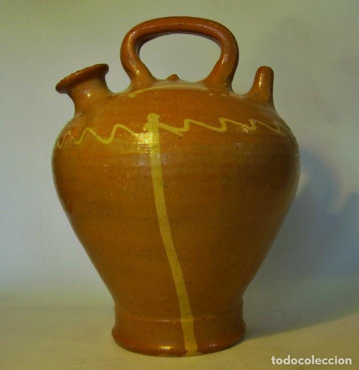 Antigüedades: GRAN BOTIJO DE TERRISSA CATALANA - Foto 2 - 121847335