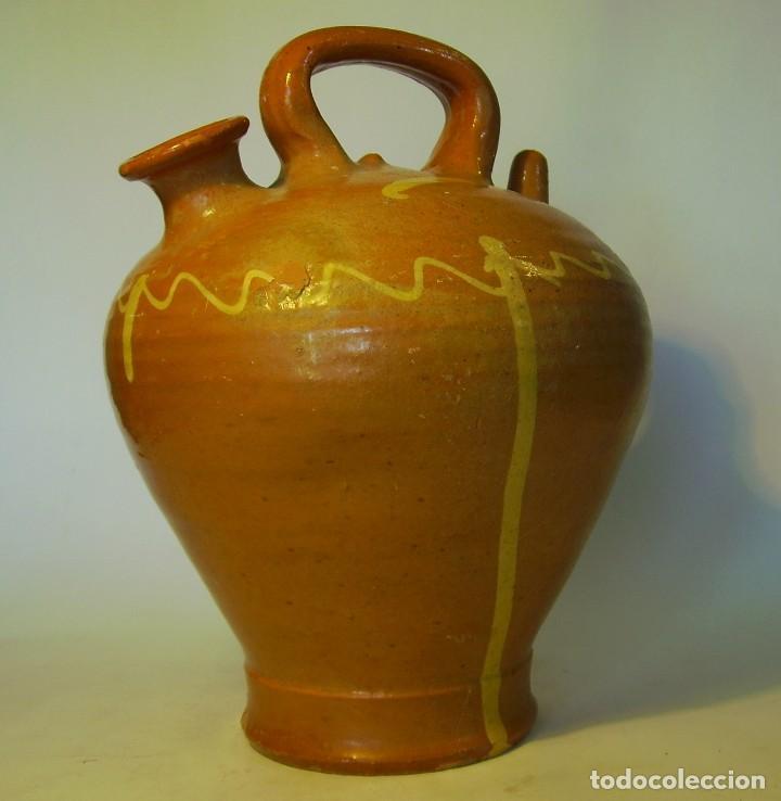 Antigüedades: GRAN BOTIJO DE TERRISSA CATALANA - Foto 5 - 121847335