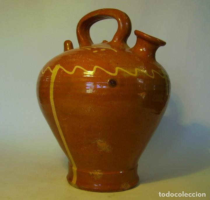 Antigüedades: GRAN BOTIJO DE TERRISSA CATALANA - Foto 6 - 121847335