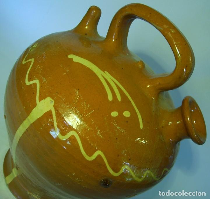 Antigüedades: GRAN BOTIJO DE TERRISSA CATALANA - Foto 10 - 121847335