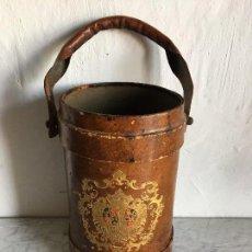 Antigüedades: ANTIGUA POLVORERA-CARTUCHERA DE LA ARMADA FRANCESA. Lote 121856155