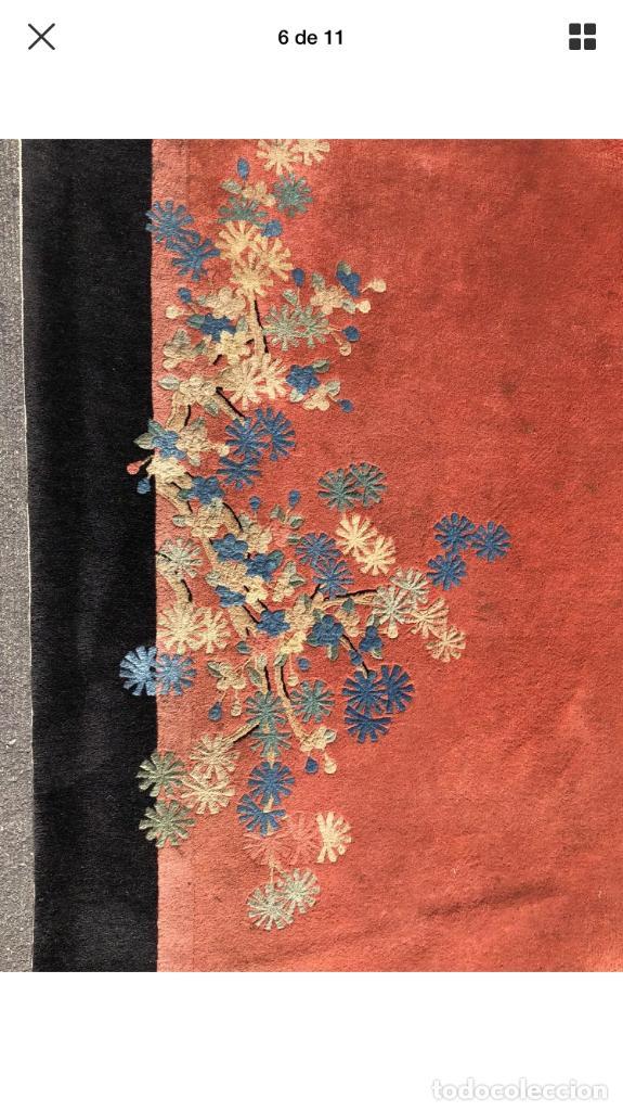 Antigüedades: Alfombra China Art Decó antigua 1930 - Foto 3 - 121857215