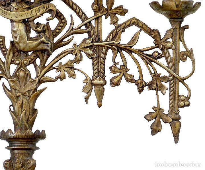 Antigüedades: Candelabro del Siglo XIX - Foto 6 - 154602221