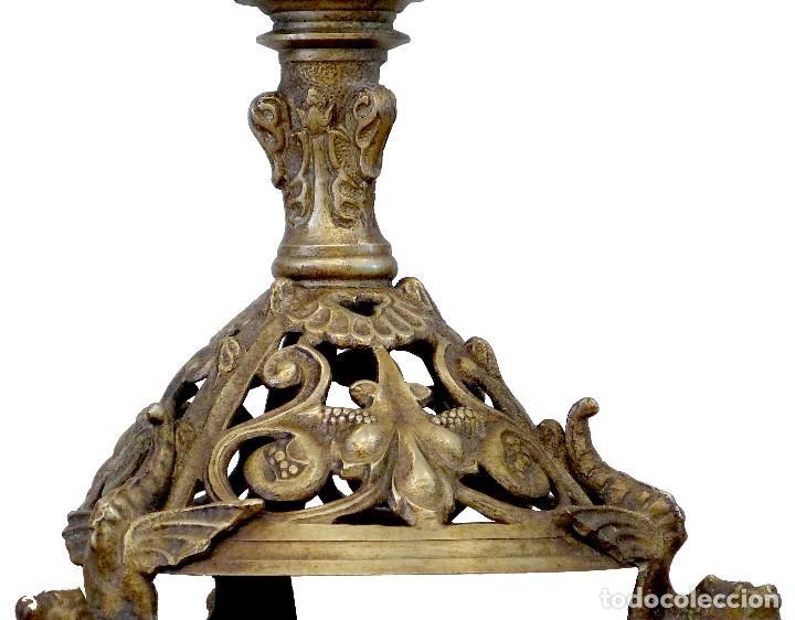 Antigüedades: Candelabro del Siglo XIX - Foto 7 - 154602221