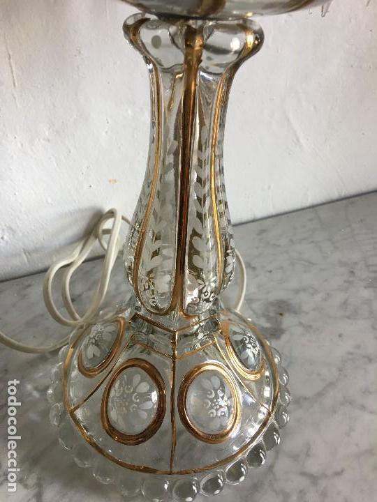 Antigüedades: CANDELABRO CRISTAL - Foto 7 - 217522688